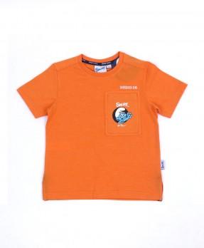 Smurf Elegant 02 - T-Shirt (Boys   4-12 Tahun)