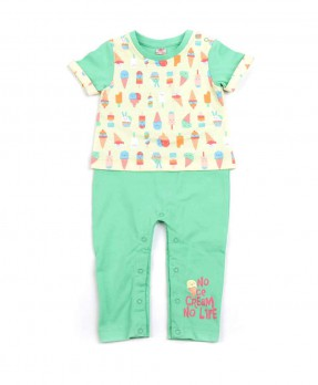 Scream Ice Cream 06 - Rompers (Boys | 0-12 Months)
