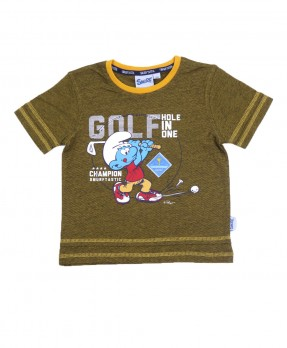 Smurf Casual 03 - T-Shirt (Boys | 4-12 Tahun)