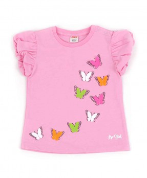 Shine Like Butterfly 04 - T-shirt (Girls | 12-36 Months)
