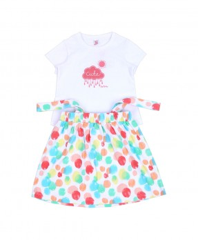 Cotton Ball 10 - Jumper Dress & T-Shirt (Girls | 6-24 Bulan)