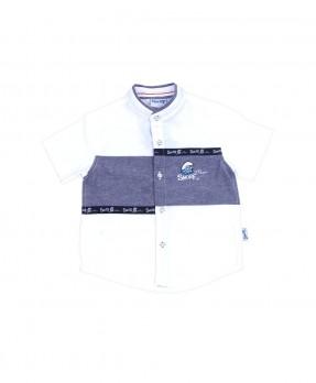 Smurf Basic Color 05 - Shirt (Boys | 4-12 Tahun)