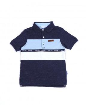 Smurf Basic Color 04 - Polo Shirt (Boys | 4-12 Tahun)
