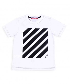 Stripe and Shape 06 - T-Shirt (Boys | 5-14 Tahun)