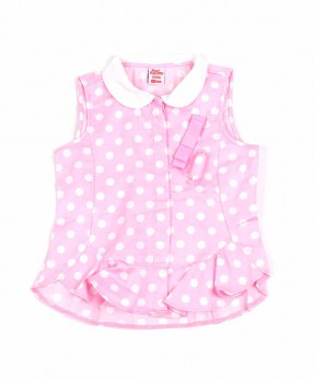 Fancy Pink 08 - Blouse (Girls | 12-36 Months)