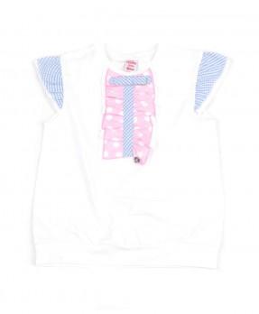 Fancy Blue 06 - T-shirt (Girls | 4-8 Tahun)