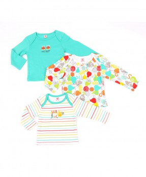 Animal And Fruits 02 (Boys | 0-12 Months)