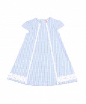 Fancy Blue 02 - Dress (Girls | 4-8 Tahun)