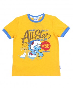 Smurf Casual 01 - T-Shirt (Boys   4-12 Tahun)