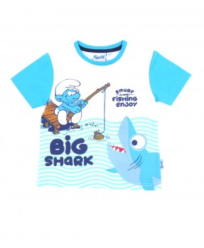 Smurf Baby Cute 02 - T-shirt (Boys | 12-36 Bulan)