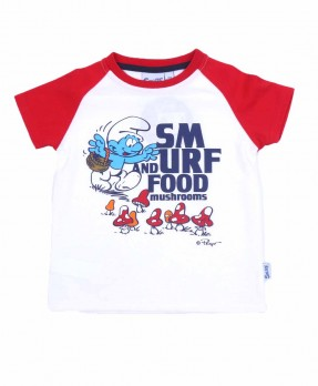Smurf Baby Color 02 - T-shirt (Boys | 12-36 Bulan)
