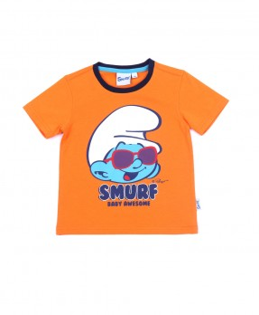 Smurf Baby Cute 05 - T-shirt (Boys | 12-36 Bulan)