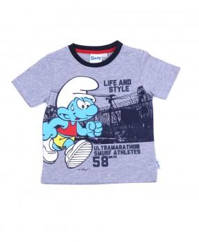 Smurf Tee 05 - T-shirt (Boys | 12-36 Bulan)