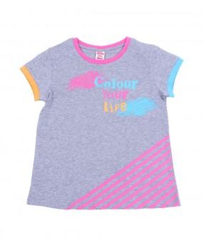 Colour Your Life 07 - T-Shirt (Girls   5-14 Tahun)