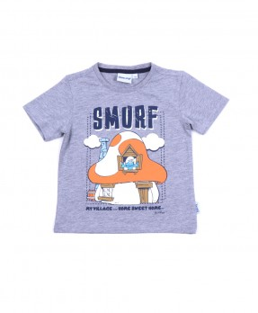 Smurf Baby Cute 06 - T-shirt (Boys | 12-36 Bulan)