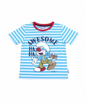 Smurf Baby Color 03 - T-shirt (Boys | 12-36 Bulan)