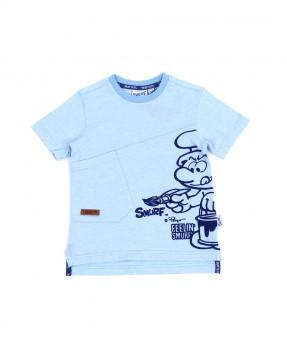 Smurf Basic Color 01 - T-Shirt (Boys | 4-12 Tahun)