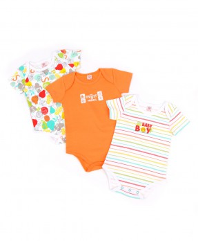 Animal And Fruits 03 (Boys | 0-12 Months)