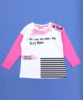 Colour Your Life 03 - T-Shirt (Girls   5-14 Tahun)