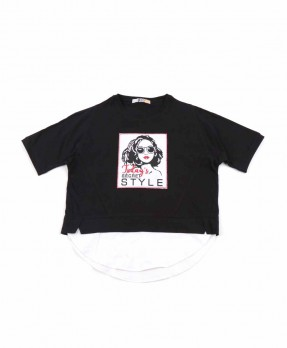 Monochrome Factor 05 - T-Shirt (Girls | 6-14 Years)