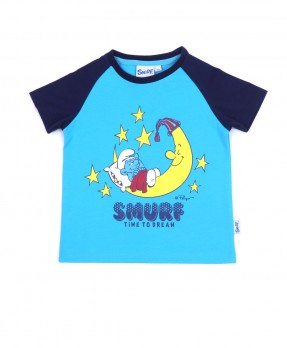 Smurf Baby Cute 01 - T-shirt (Boys | 12-36 Bulan)