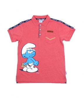Smurf Casual 04 - Polo Shirt (Boys | 12-36 Bulan)