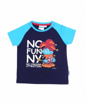 Smurf Baby Color 04 - T-shirt (Boys | 12-36 Bulan)