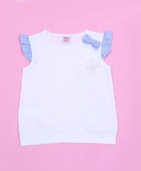 Fancy Blue 04 - T-shirt (Girls | 4-8 Tahun)