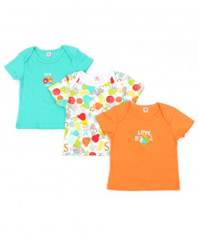 Animal And Fruits 01 (Boys | 0-12 Months)