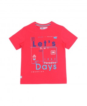 Vacation Mood On 08 - T-Shirt (Boys | 5-14 Tahun)