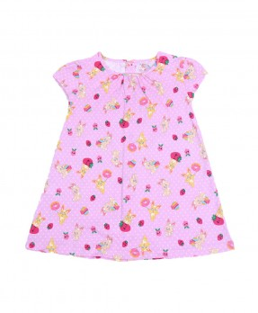 Fluffy Bunny 01 - Dress (Girls | 6-24 Bulan)