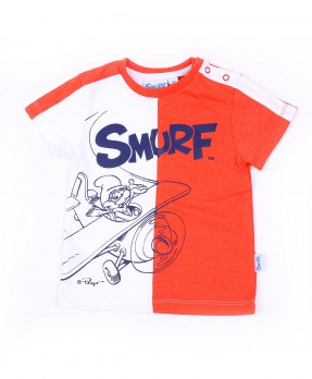 Awesome Baby Smurf 01B - T-shirt (Boys | 9-24 Months)