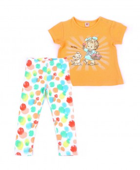 Colorful Baby 07 - T-shirt & Trouser (Girls | 6-24 Months)