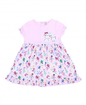 Little Kitten 01 - Dress (Girls | 6-24 Bulan)