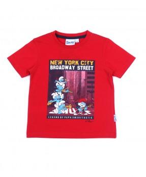Smurf Tee 04 - T-shirt (Boys | 12-36 Bulan)