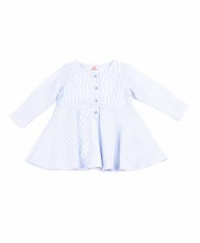 Fancy Blue 05 - Blouse (Girls | 4-8 Tahun)