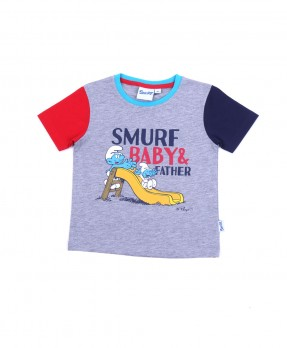 Smurf Baby Color 05 - T-shirt (Boys | 12-36 Bulan)
