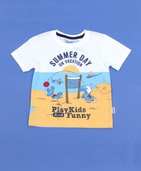 Smurf Tee 01 - T-shirt (Boys | 12-36 Bulan)