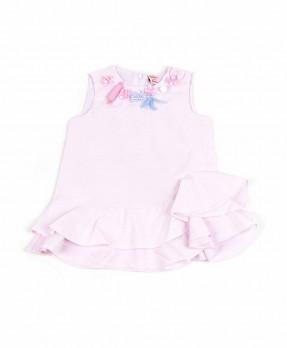 Fancy Pink 05 - Blouse (Girls | 12-36 Months)
