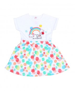 Cotton Ball 01 - Dress (Girls | 6-24 Bulan)
