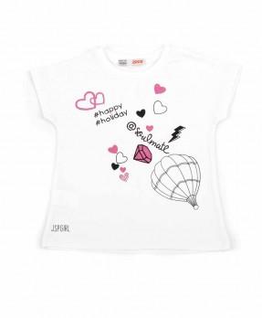 Air Baloon Trip 05 - T-shirt (Girls | 12-36 Months)
