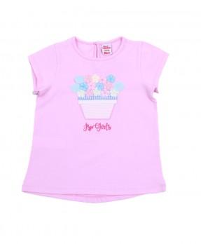 Fancy Pink 09 - T-shirt (Girls | 12-36 Months)