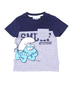 Awesome Baby Smurf 05B - T-shirt (Boys | 9-24 Months)