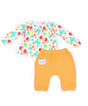 Colorful Baby 05 - T-shirt & Trouser (Girls | 6-24 Months)