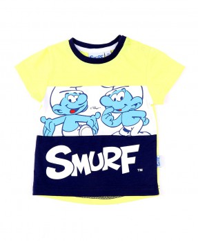 Awesome Baby Smurf 02B - T-shirt (Boys | 9-24 Months)